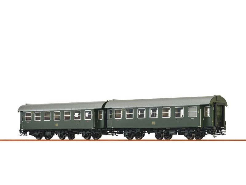 2er-Set Personenwagen B3yge der DB, III, Spur H0