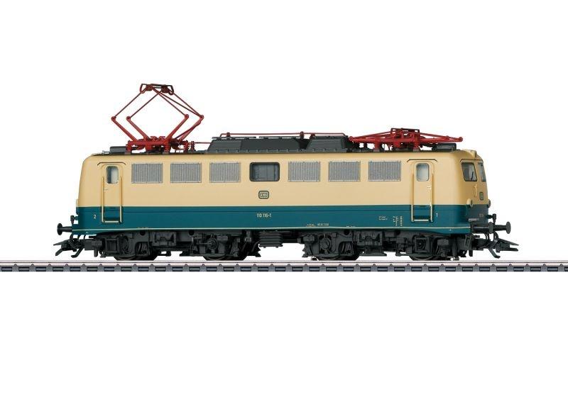 Elektrolokomotive Baureihe 110.1 der DB, Sound, mfx+, H0