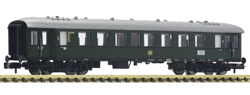 Eilzugwagen 2. Klasse + Beleuchtung der DB, DC, Spur N