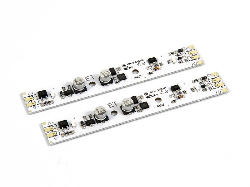 LED Lichtleiste 100mm, digital, 2 Stück