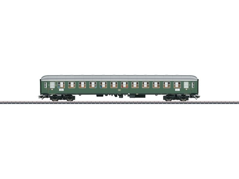 Schnellzug-Abteilwagen B4üm 2.Kl. der DB, AC, Spur H0