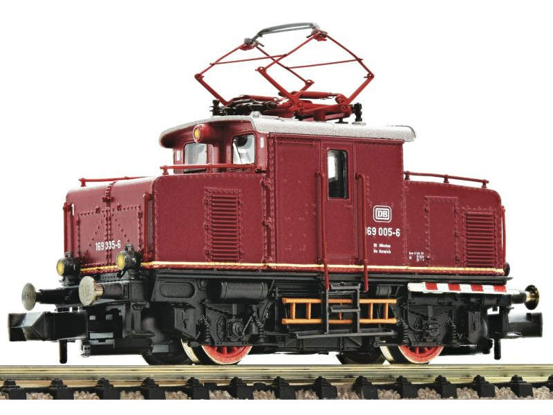 Elektrolokomotive BR 169 005 DB rot, DC, Spur N