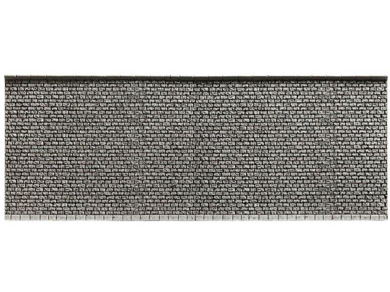 Mauer, 33,4 x 12,5 cm Spur H0