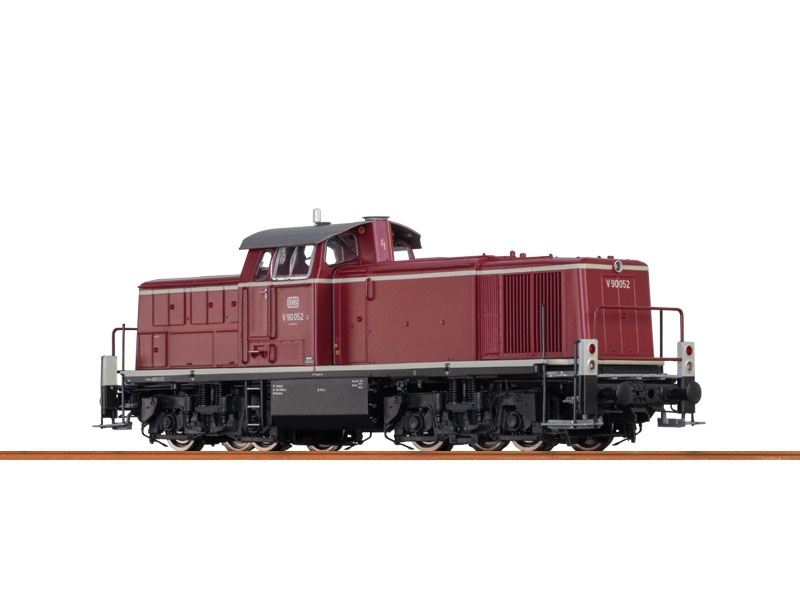 Diesellok V90 der DB, III, AC Digital BASIC+, H0