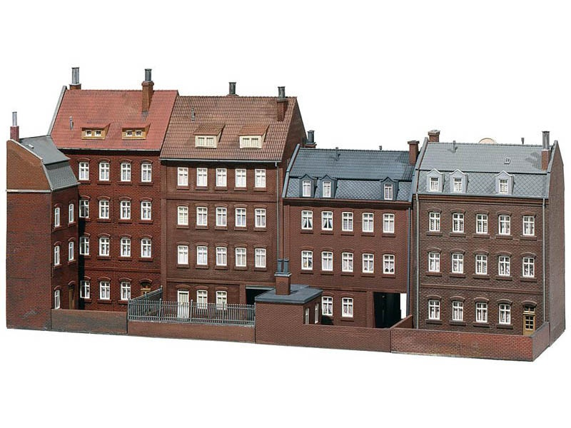 Stadthäuserzeile Goethestraße Bausatz H0