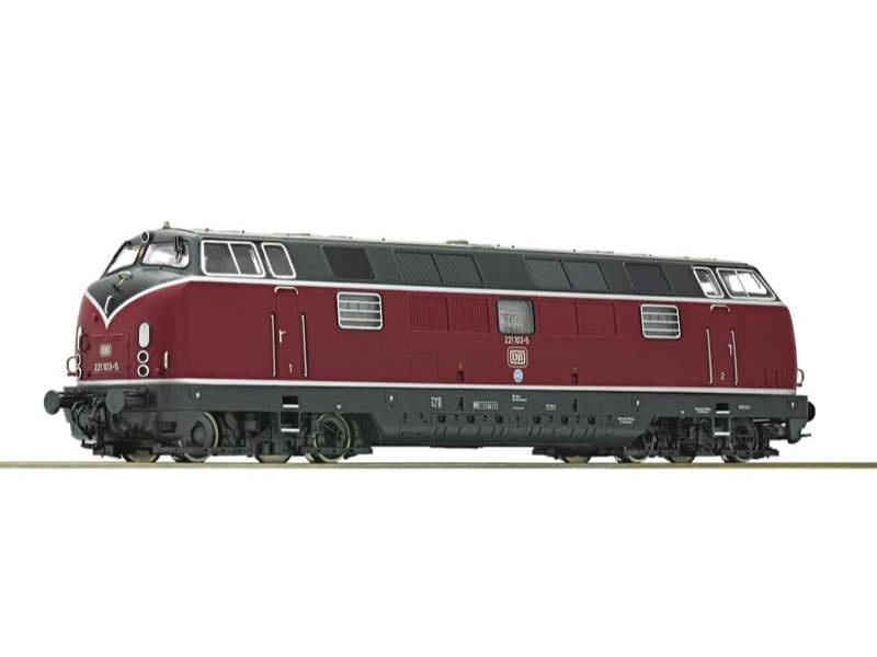 Diesellok BR 221 DB H0