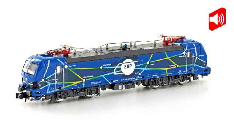 E-Lok BR 192 Vectron Smartron EGP, Ep.VI, Sound, Spur N