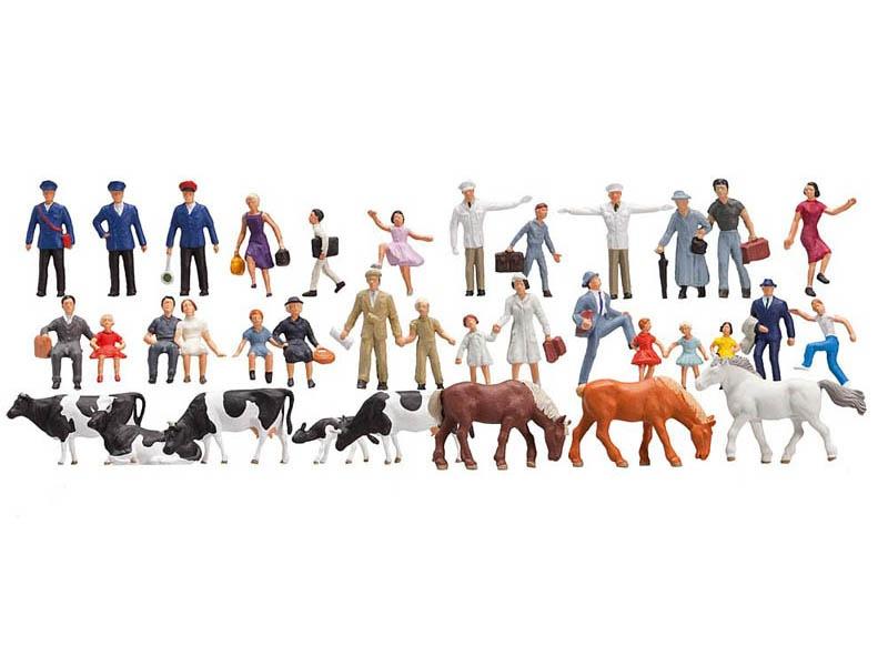 Einsteiger-Set Figuren, 36 Stück N
