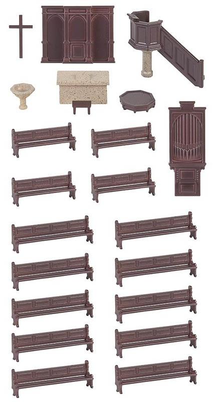 Kirchenausstattungs-Set Bausatz H0