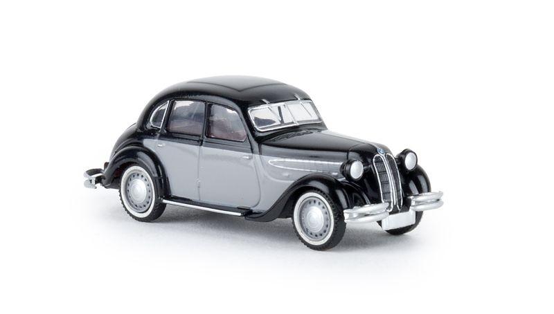 BMW 326 schwarz/grau, TD, Spur H0