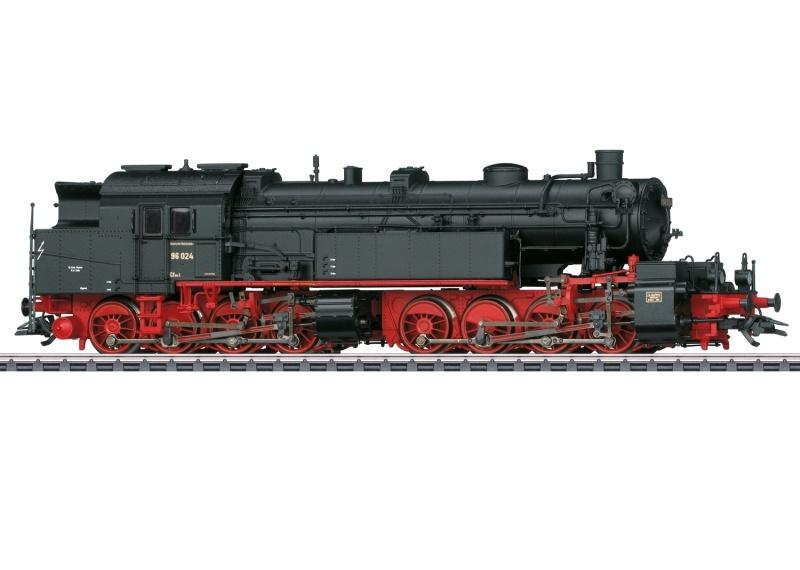 Dampflokomotive Baureihe 96.0 DRG, AC, mfx+, Spur H0