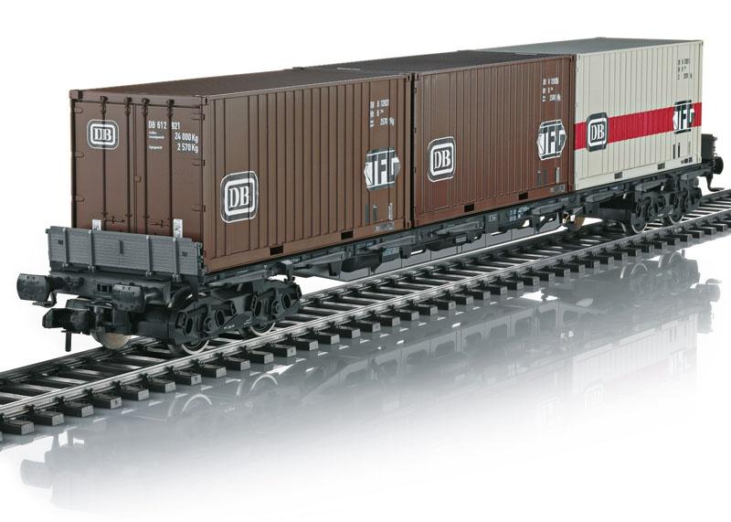 Mehrzweck-Container-Tragwagen Sgjs 716 der DB, Spur 1