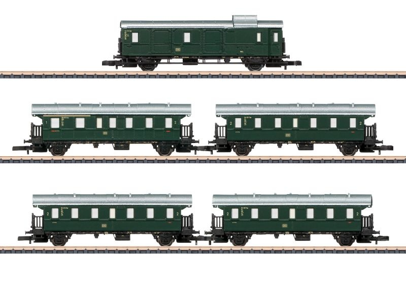 Personenwagen-Set Höllentalbahn der DB, Spur Z