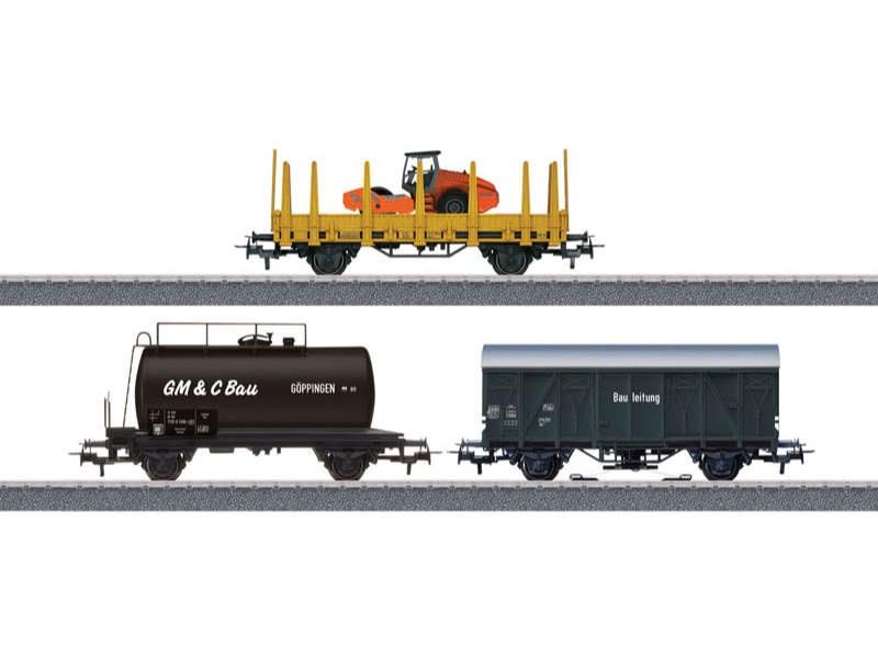 Start up - Güterwagen-Set Baustelle H0 mfx H0