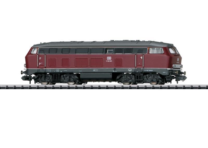 Diesellokomotive BR V169 der DB, Sound, DCC, Minitrix Spur N