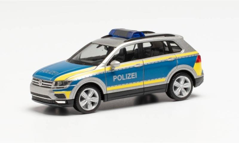 VW Tiguan Polizei Goslar, 1:87 / Spur H0
