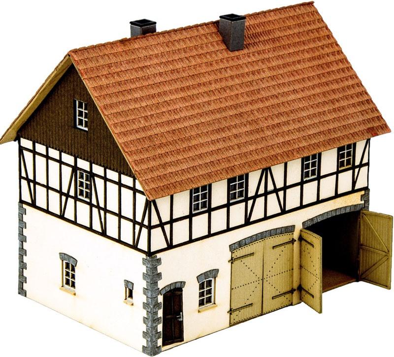 Hofgut Franz Fuhrmann & Co. Laser-Cut Bausatz Spur H0