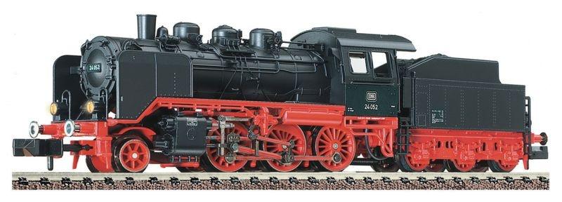 Dampflokomotive BR 24 der DB, Epoche III, DCC, Spur N