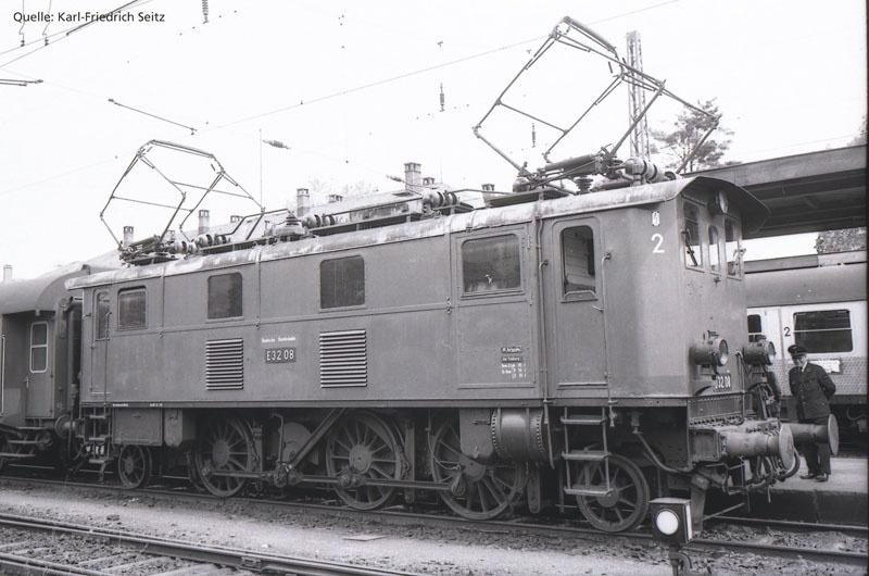 Sound-E-Lok BR E 32 der DB, Ep. III, AC, Spur H0