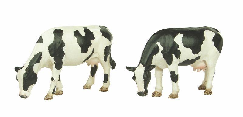 Grasende Kühe, Figuren, Spur G