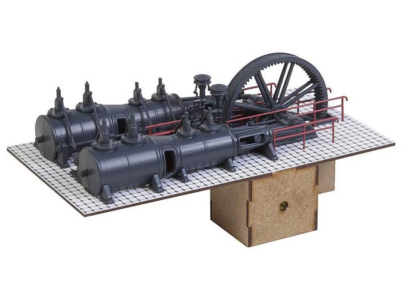 Dampfmaschine Bausatz H0