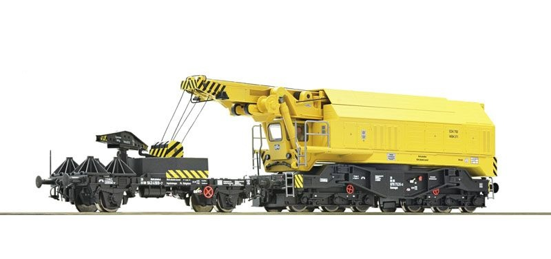Digital-Eisenbahndrehkran 750 der DB, Sound, DC, Spur H0