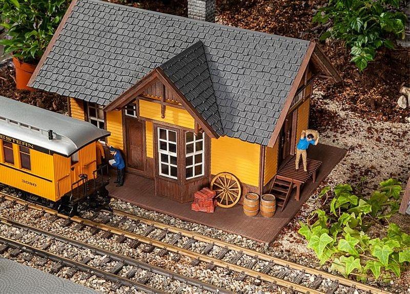 Amerikanischer Bahnhof Silverton, Spur G