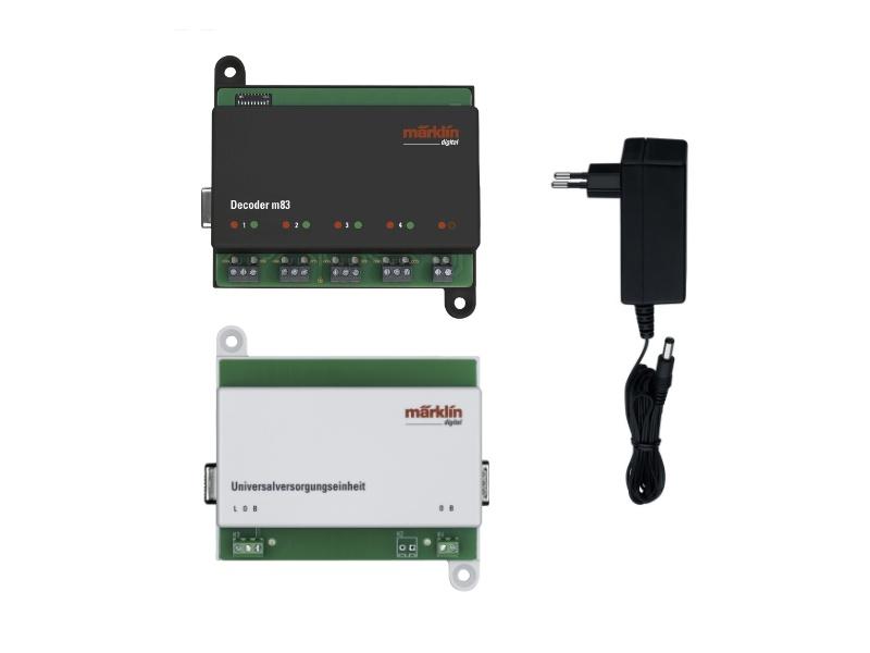 Decoder m83 Einstiegsset mit Netzeil & Versorgungseinheit