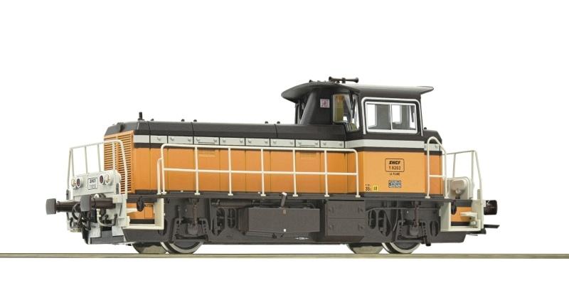Diesellokomotive Serie Y 8000 der SNCF, AC, Spur H0