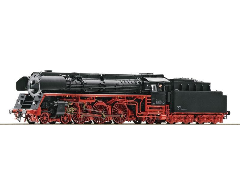 Dampflok BR 01.5 der DR, Henning-Sound, DC, Spur H0