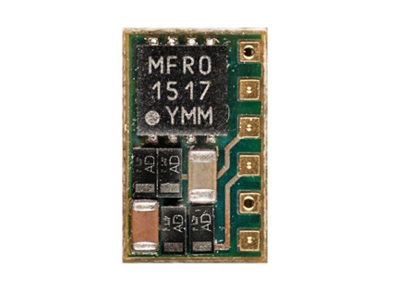 Nano-Lokdecoder PD05A-1 für SX1,SX2 & DCC mit Flachbandkabel