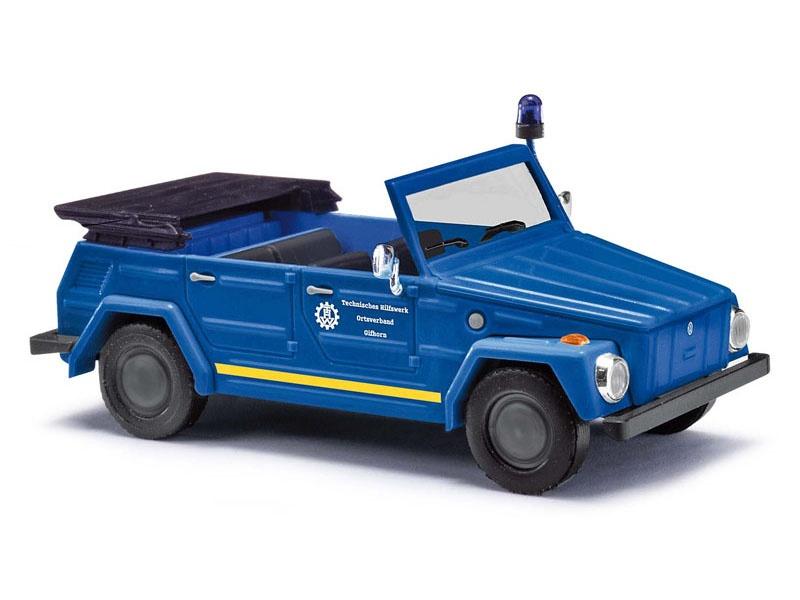 VW 181 Kurierwagen, THW Gifhorn, Spur H0