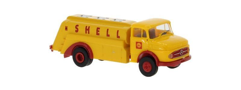 Mercedes L 322 Tankwagen, Shell, 1960, 1:87 / Spur H0