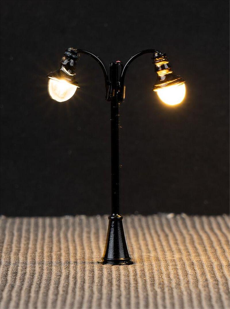 LED-Laterne, Bogenleuchten, 3 Stück, Spur N