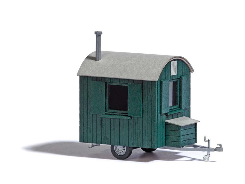 Forstwagen Grün, Spur H0
