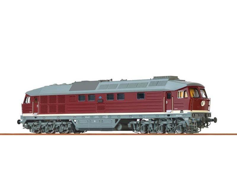 Diesellokomotive 232 der DR, IV, BASIC+, DC, Spur N