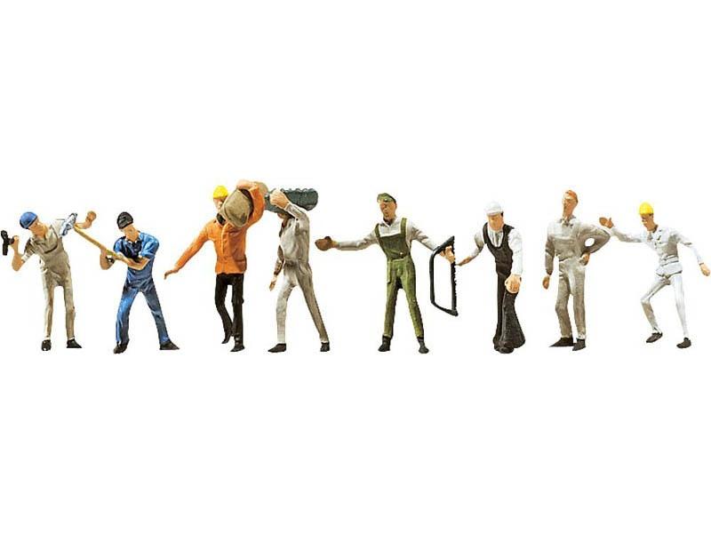 Bauarbeiter Figuren N