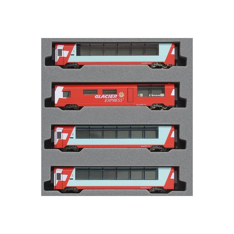 Glacier Express Ergänzungsset 4-teilig, Spur N