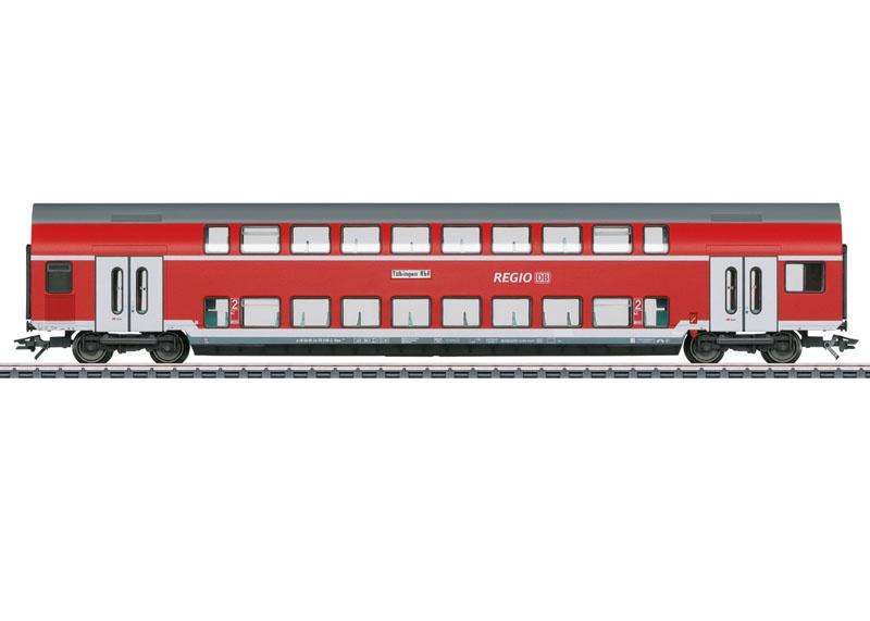 Doppelstockwagen 2.Kl. der DB, AC, Spur H0