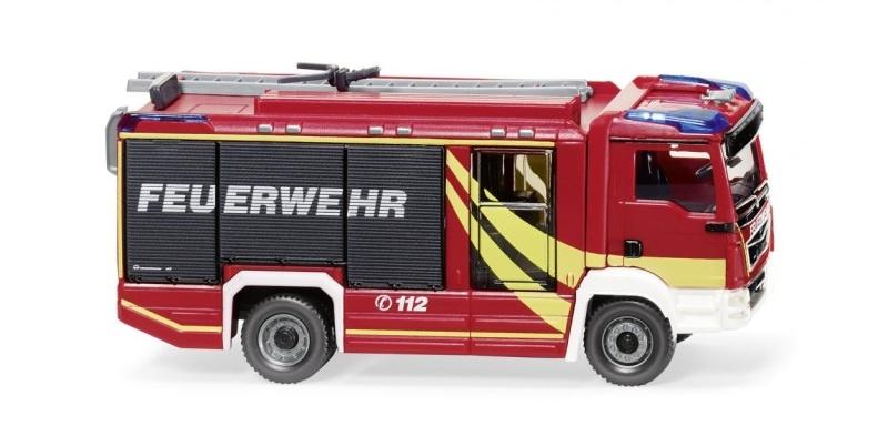 Feuerwehr Rosenbauer AT LF (MAN TGM Euro 6), 1:87 / H0