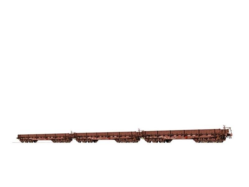 Schwerlastwagen Samm der DR, 3er-Set, IV, DC, Spur N