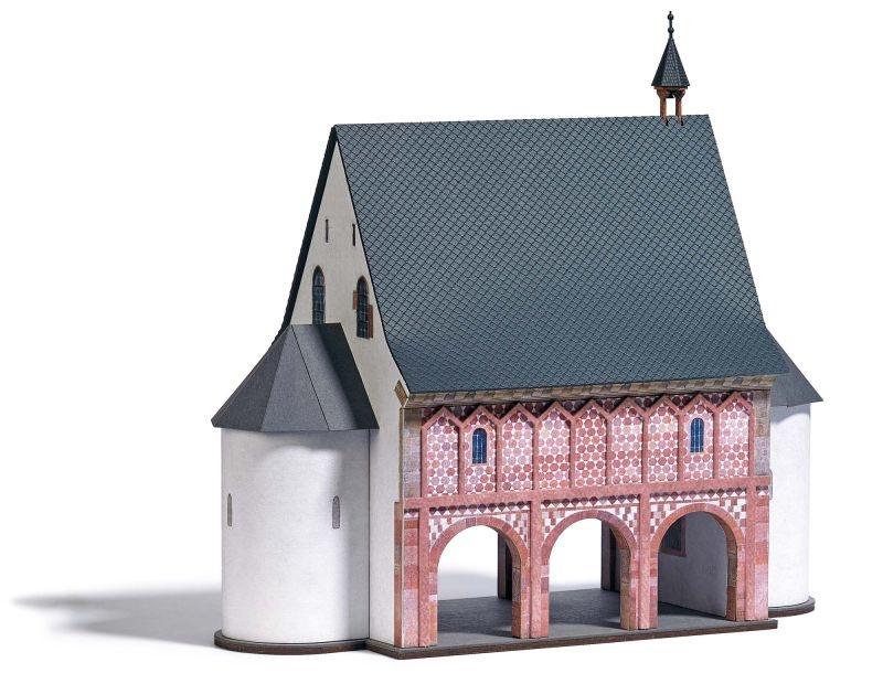 Klosterhalle Bausatz, Spur H0