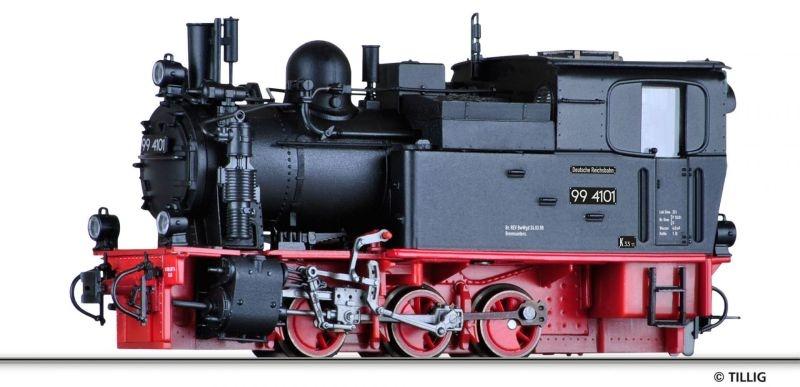 Dampflokomotive 99 4101 der HSB, Spur H0e