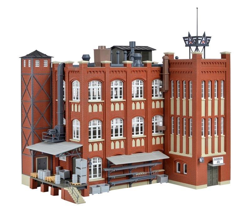 Fabrik aus der Gründerzeit, Bausatz, Spur H0