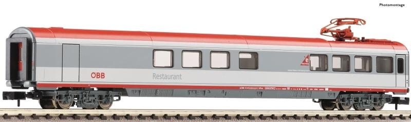 Eurofima-Speisewagen Bauart WRmz 88-95 der ÖBB, Spur N