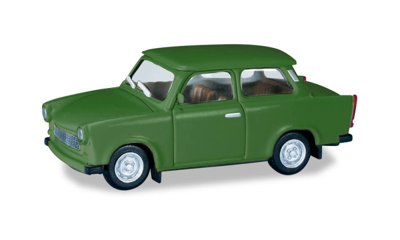 Trabant 601, grasgrün, 1:87 / Spur H0