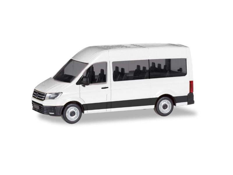 MiniKit: VW Crafter Bus Hochdach, weiß, 1:87 / H0