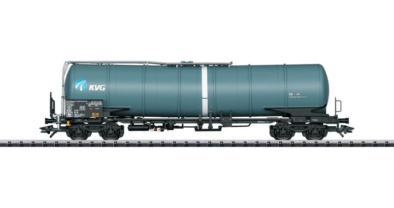 Kesselwagen Bauart Zans der KVG, DC, Spur H0