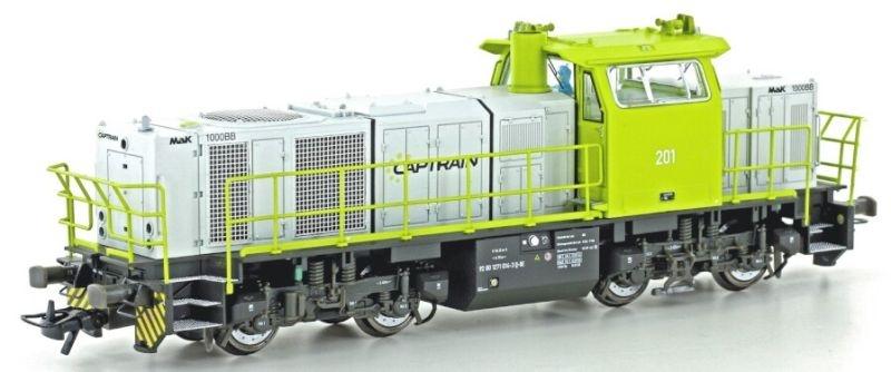 Diesellokomotive Vossloh G1000 BB, Captrain Ep. VI, DC, H0