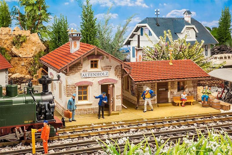 Bahnhof Altenholz Bausatz G